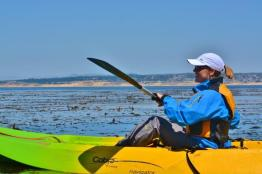 Kayaking in Monterey Bay 2