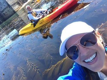 kayaking in Monterey Bay 1