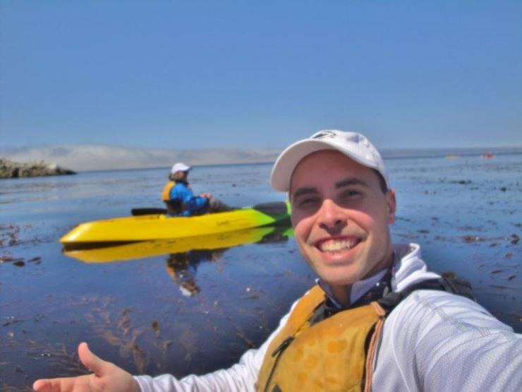 kayaking in Monterey Bay 4