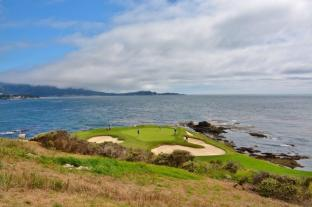 Pebble Beach golf course 10