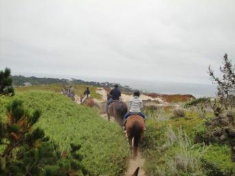 pebble beach horseback riding 4