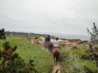 pebble beach horseback riding 4
