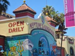 Santa Cruz Boardwalk mini golf - Neptune's Kingdom