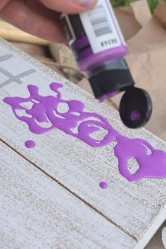 6 octopus ink sign - purple paint 1