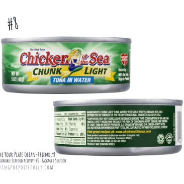 Chicken of the Sea Tuna Fish