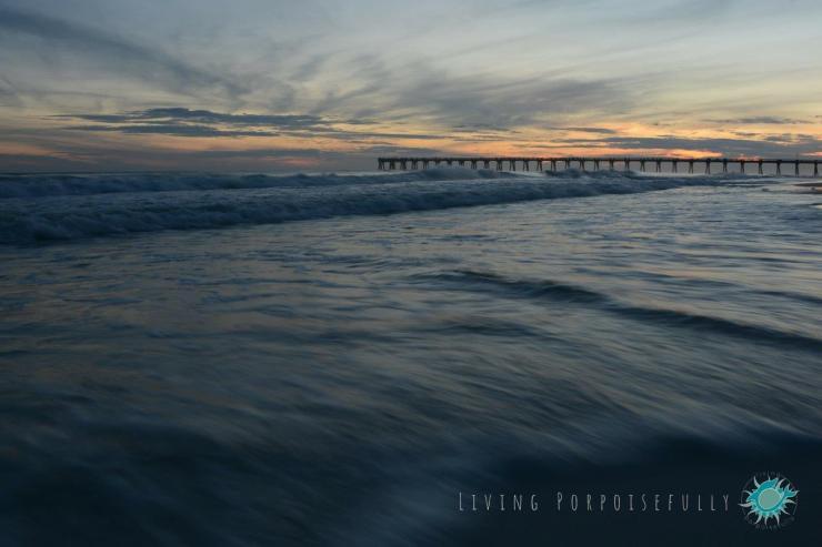Sunset Navarre Beach Pier Nature Photography Living Porpoisefully 2