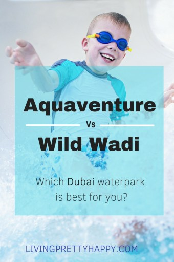 Aquaventure vs Wild Wadi - which waterpark is best for you?