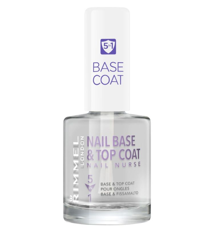 Recommended: Multi-use beauty products. Image of Rimmel London Nail Nurse bottle
