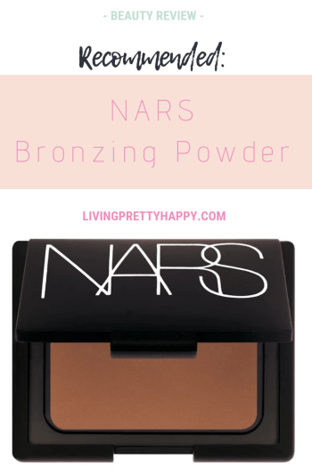Recommended: NARS Bronzing Powder. Review of NARS bronzing powder. Recommended bronzing powder. Good bronzing powder. Achieve a natural looking sun-kissed look #NARS #Bronzingpowder #NARSreview #Makeupreview