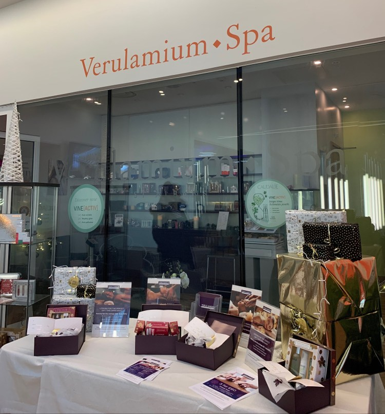 The rise of the leisure centre day spa (Verulamium Spa, St Albans) Image of Entrance to Verulamium Spa, St Alban's