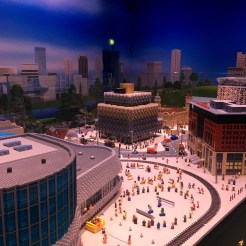 Happy Days: Legoland Discovery Centre Birmingham. Image of some of the buildings in Miniland at Legoland Discovery Centre Birmingham