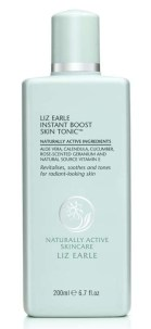 Image of Liz Earle Instant Boost Skin Tonic.  Recommended product to tackle spots in adulthood