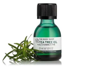 Spots in adults. Image of The Body Shop Tea Tree Oil