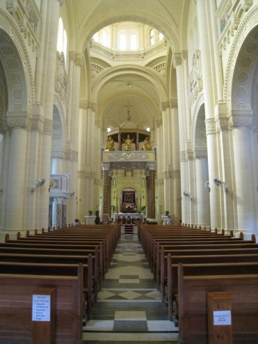 Happy Travels: Where you absolutely should go in Malta. Image of interior of Ta' Pinu Gozo