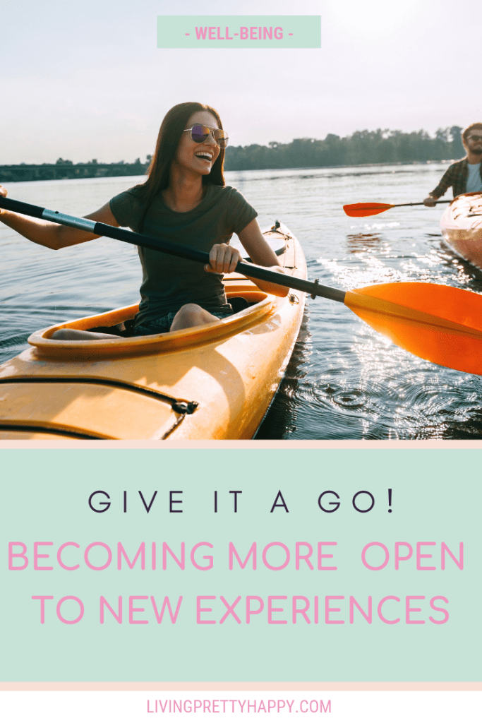 Give it a go! Becoming more open to new experiences.  Getting involved and trying something new.  Building confidence - why should we try new things.  #selfdevelopment #wellbeing #involvement #opentonew