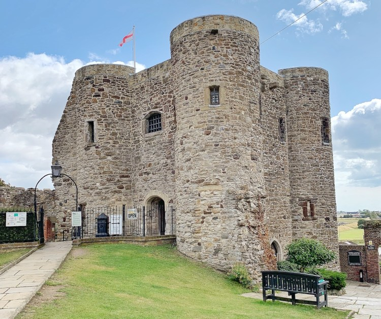 A stop on our Treasure Trail in Rye at Rye Castle