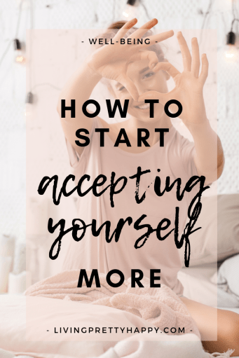 Repin & Click to discover more about self-acceptance and tips, affirmations on how to be more accepting of yourself.  Self-acceptance is an important element of our well-being.  Find out more! #selfacceptance #selflove #wellbeing #empowerment #personalgrowth