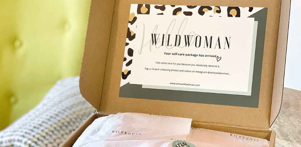 Your WILDWOMAN Self-care package has arrived!
