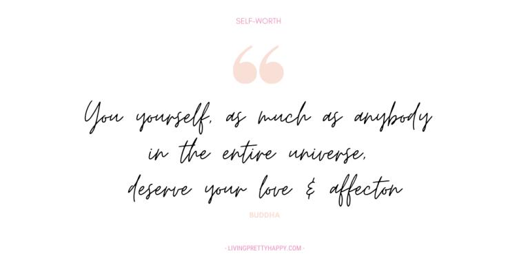 Buddha quote on self-worth