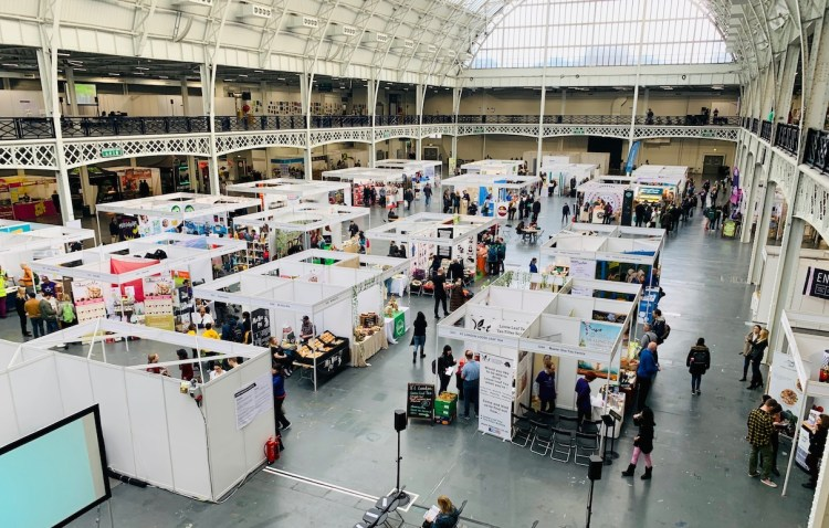 The Plant-Powered Expo at Olympia, London