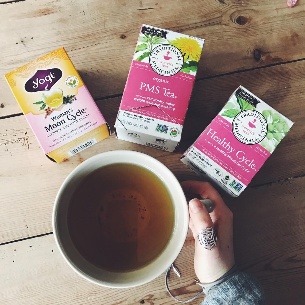 Herbal Tea for PMS