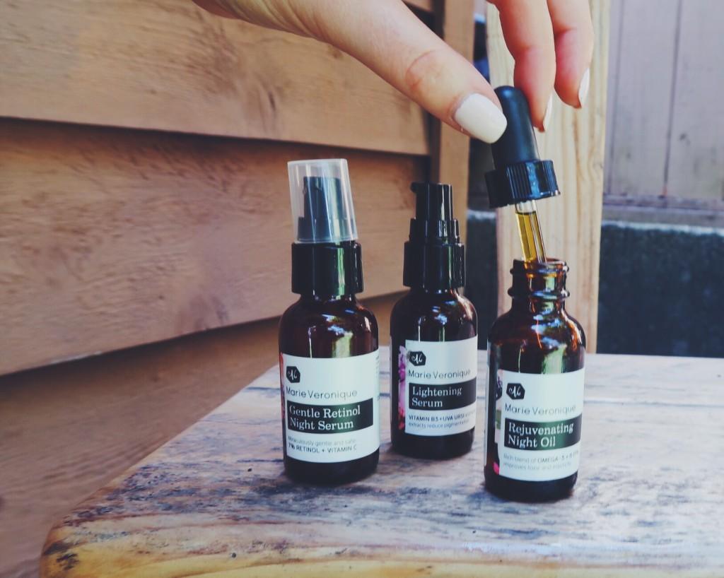 organic facial oils by marie veronique