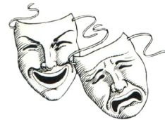 Comedy & Drama masks