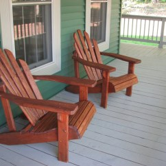 Gray Adirondack Chairs Hanging Chair Outdoor Re Staining Living Rich On Lessliving