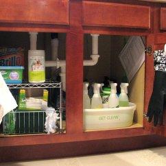 Under Kitchen Sink Storage Prefab Island Organize The Archives Living Rich On