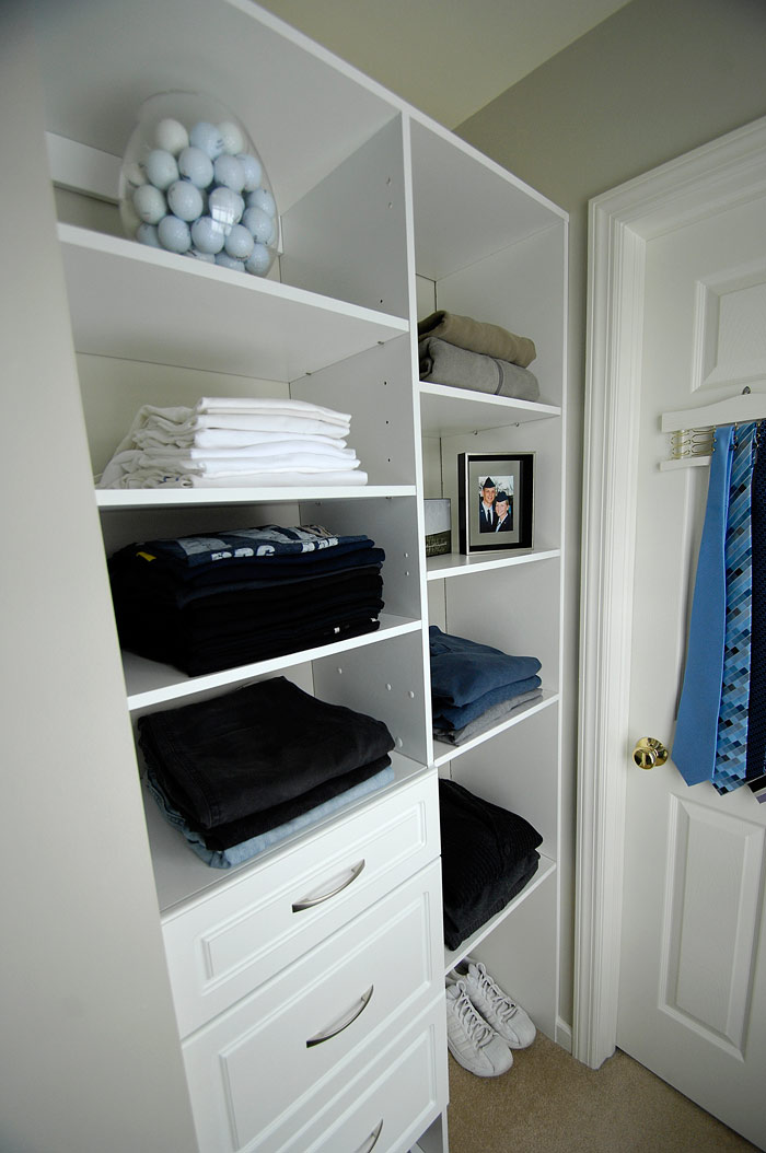 Master closet renovation Done  Living Rich on LessLiving Rich on Less