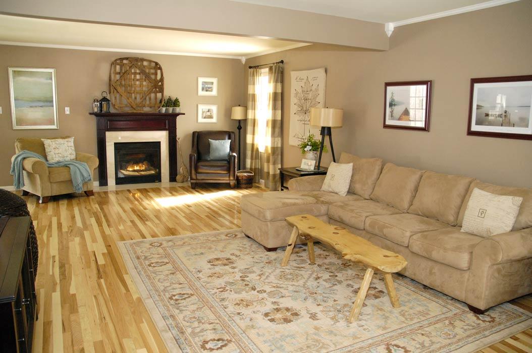inexpensive rugs for living room italian design furniture hickory floor reveal - rich on lessliving less
