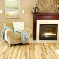 Best Size Rug For Living Room How To Decorate A Rustic Hickory Floor Reveal - Rich On Lessliving Less