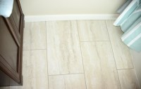 Vinyl Travertine Tile