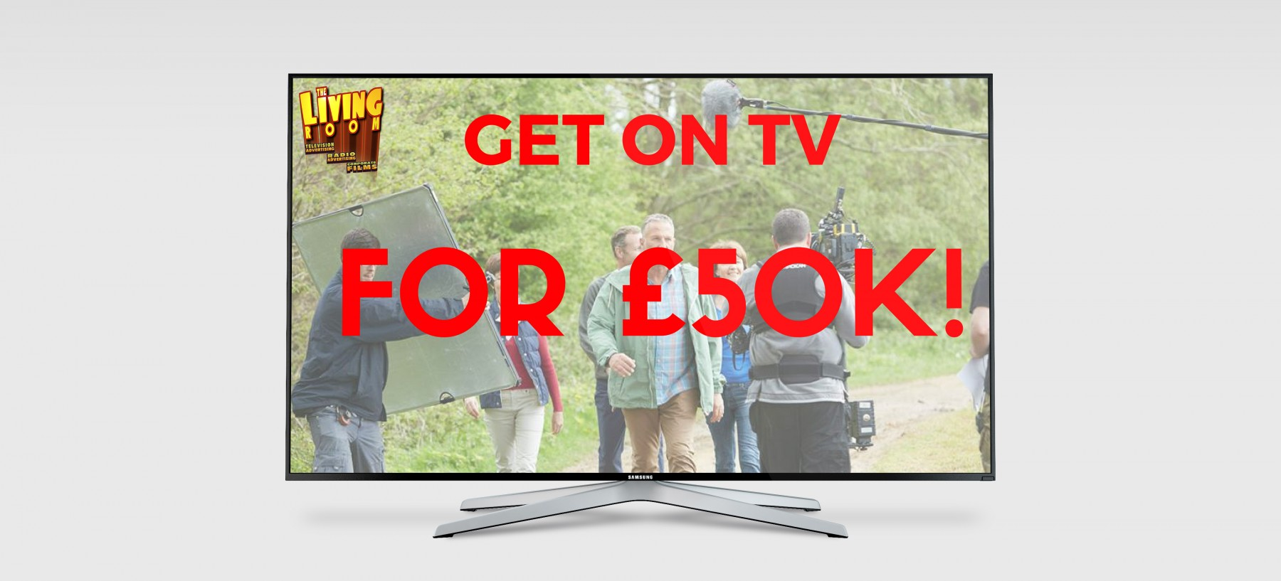 Get Your Brand On Tv For Just £50k!  The Living Room
