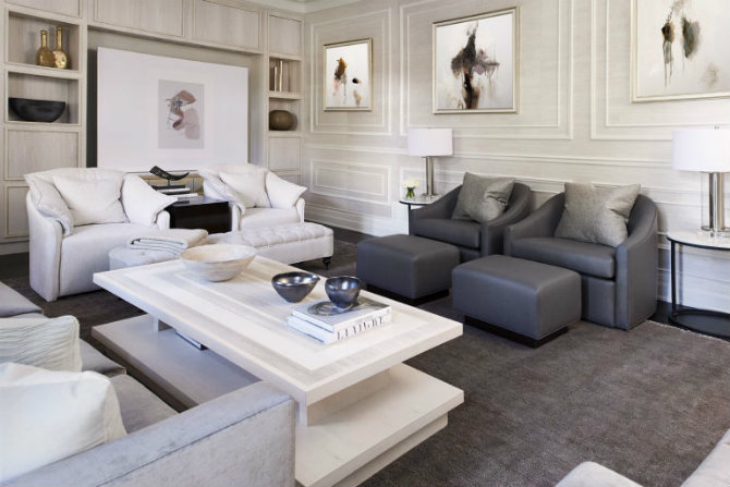 beautiful living room ideas chairs with ottomans rooms before and after of a sophisticated family 5