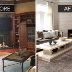 Beautiful Living Room Images Lighting Ideas Rooms Before And After Of A Sophisticated Family 5