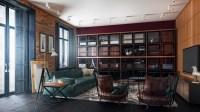 Mid-century Modern apartments living room designs ...