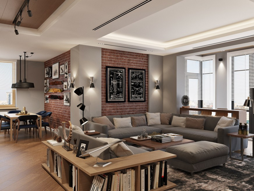 luxury living room modern wall design 6 ideas with incredible lighting designs apartments lumiere 1