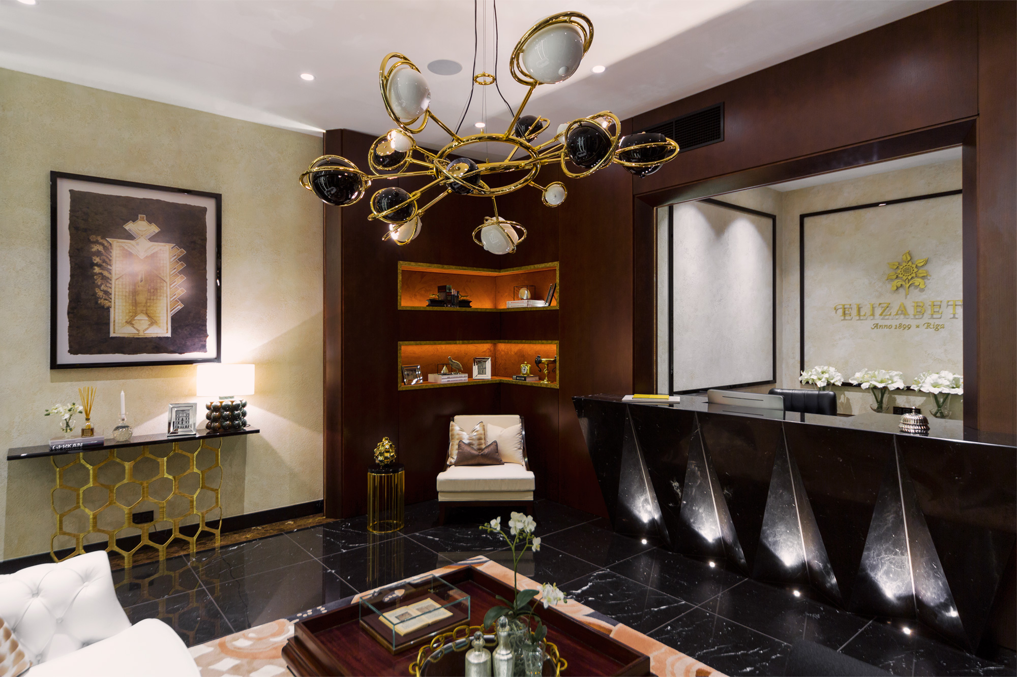 6 Luxury Living Room Ideas with incredible lighting designs