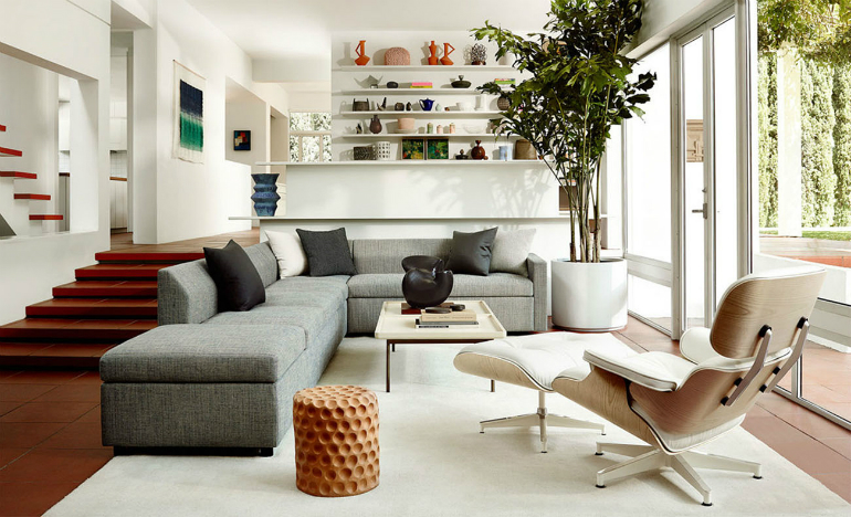 herman miller chair sizes old ikea covers living room essentials: eames lounge and ottoman – ideas