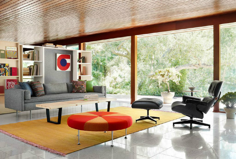 Eames Lounge Chair In Living Room Thecreativescientist Com