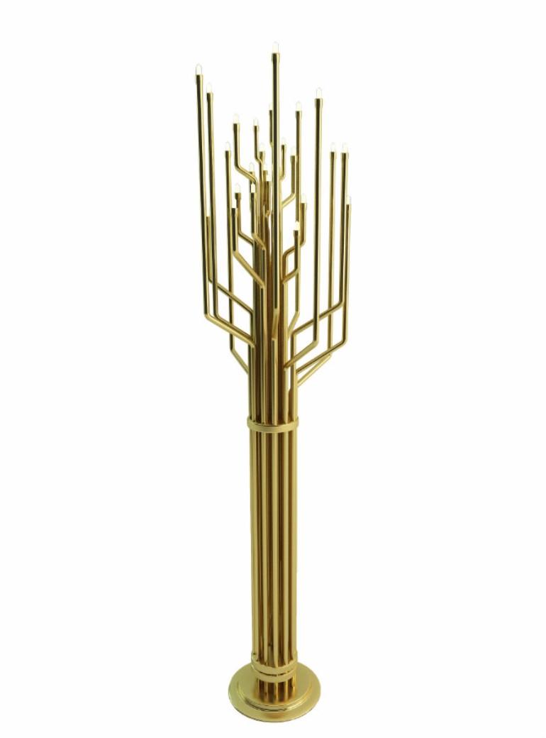 Living Room Ideas Golden Floor Lamps