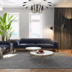 Modern Black Living Room Creative Ways To Decorate A Small Apartment In Kiev With Design