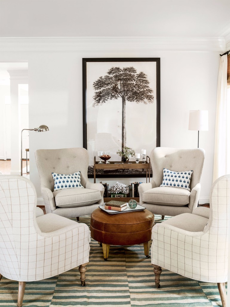 artwork for formal living room shades of orange paint the best ways to display art in your decor ...