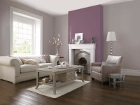 Catchy Living Rooms Designs With Purple  Living Room Ideas