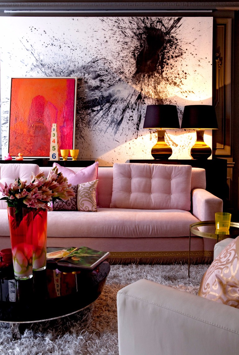 light pink living room ideas painting for with brown furniture glorious about rooms