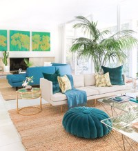 Scrumptious Turquoise Living Room Ideas  Living Room Ideas