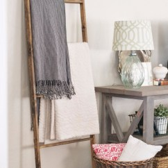 Living Room Blanket Holder Blue Sofa Ladder Stand Www Topsimages Com Ways To Style A Rack In Your Jpg 770x1258