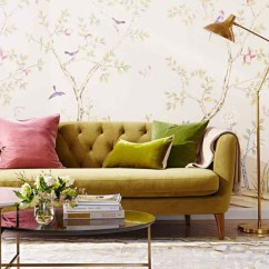 Best Wallpaper For Small Living Room Striped Chair Space Inspiration Find Here The Ideas