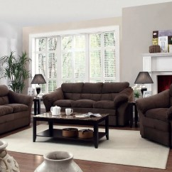 Living Room Couch And Loveseat Layout Ideas With Dark Brown Sofas Arrangement For Modern Furniture Sets